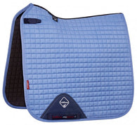 Luxury Suede Dressage Pad CORN BLUE M & L