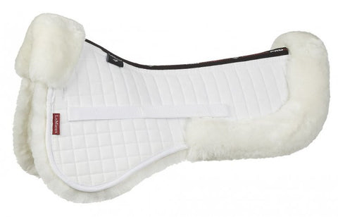 Lemieux Dressage Cut Lambskin Half Pad White priced from $95