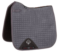 Luxury Suede Dressage Pad GREY