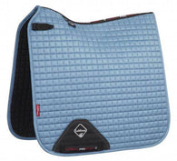 Luxury Suede Dressage Pad ICE BLUE M & L