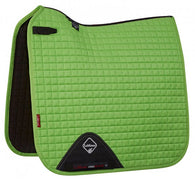 Luxury Suede Dressage Pad LIME M & L