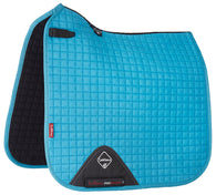 Luxury Suede Dressage Pad TEAL M & L