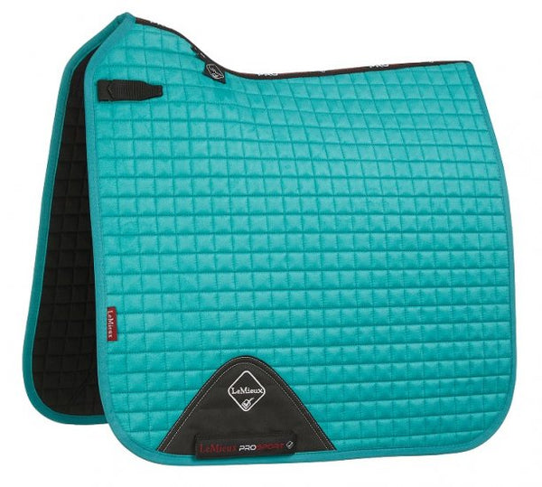 Luxury Suede Dressage Pad TURQUOISE M & L