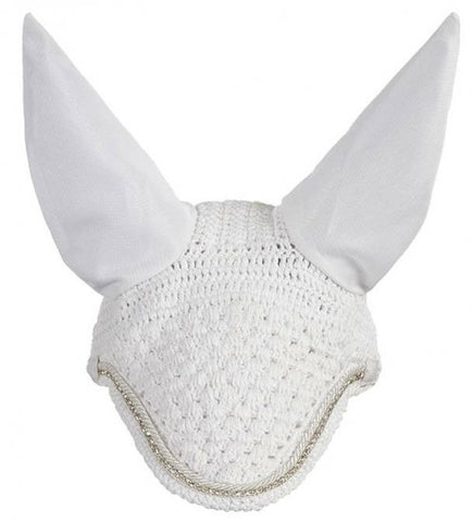 Vogue Diamante Ear Bonnet WHITE/SILVER M & L