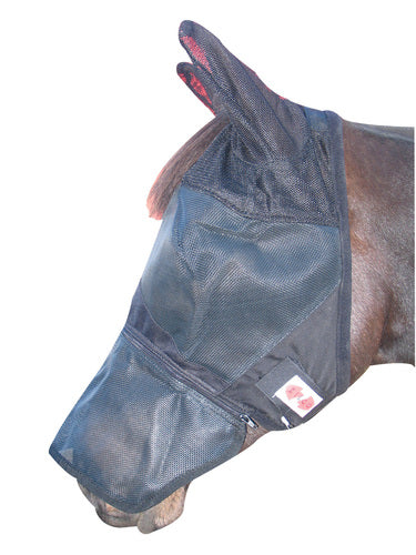 FLYMASK W/REMOVABLE NOSE PIECE ZILCO