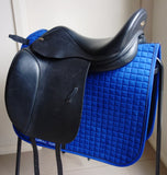 "SOLD............17.5"" Harry Dabbs Elegant XF Dressage Saddle W-XW"