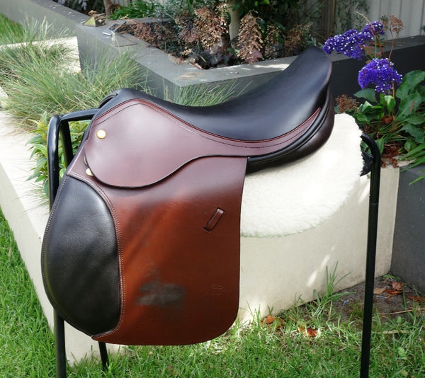 "17"" HARRY DABBS JAGUAR AP/JUMP SADDLE MW-W"