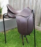 "17"" PH CLASSIC SHOW/DRESSAGE SADDLE W/XW WITH EXTRAS"