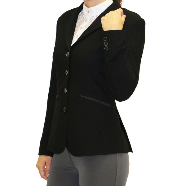 Huntington Nicky Kwik-Dry Ladies Riding Jacket - Black