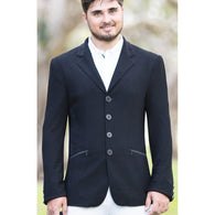 Huntington Merrick Kwik-Dry Mens Riding Jacket - BLACK (PRE ORDER)