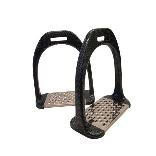 Carbonel Carbon Finish Stirrups