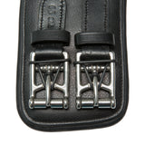 KIEFFER ULTRASOFT ANATOMIC LEATHER GIRTH BLACK