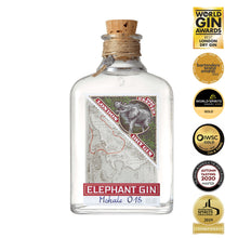 Personalised Elephant London Dry Gin gift box