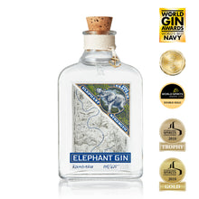 Personalised Elephant Strength Gin gift box
