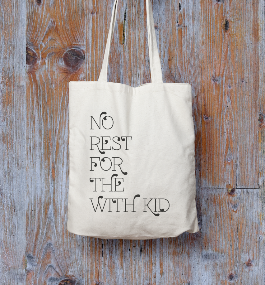 SLOGAN & PERSONALISED TOTE BAGS!