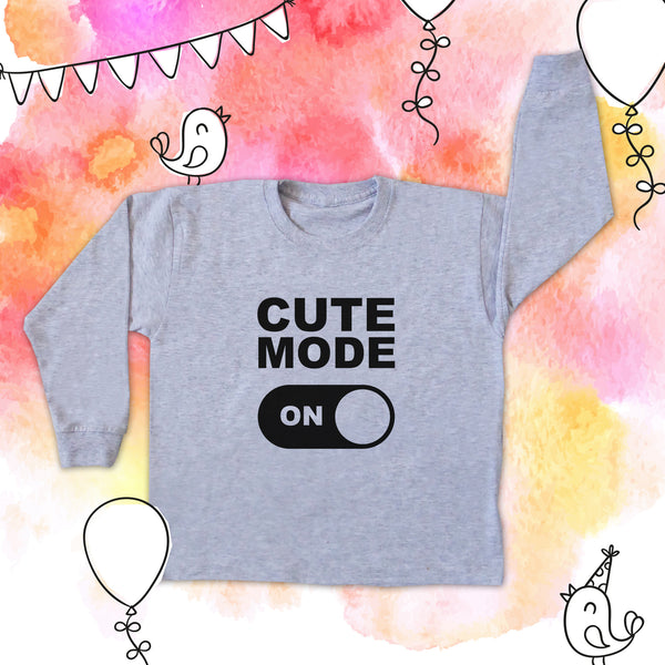 CUTE MODE BABY LONG SLEEVE TEE