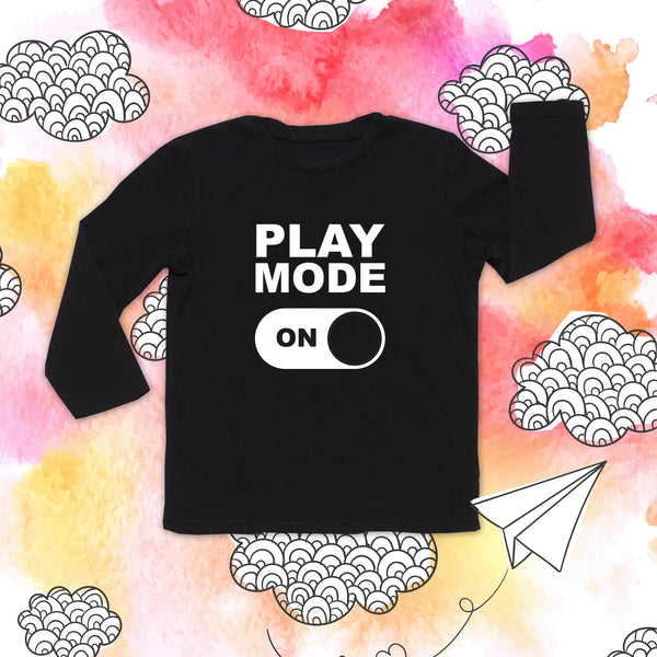 PLAY MODE TODDLER LONG SLEEVE TEE