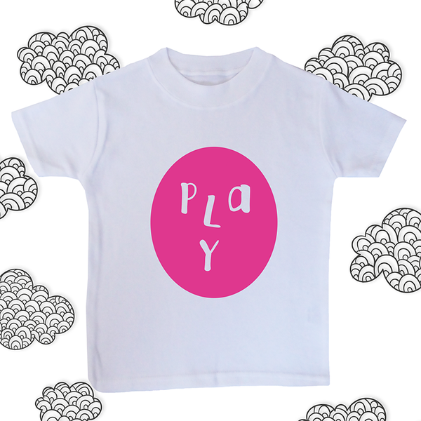PLAY FACE BABY TEE