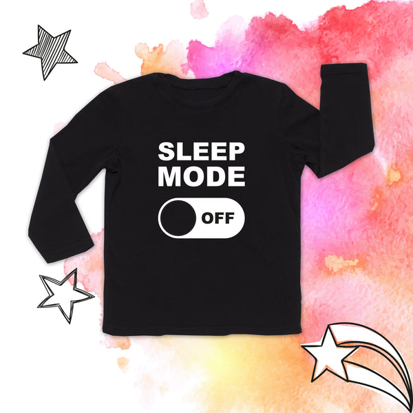 SLEEP MODE BABY LONG SLEEVE TEE