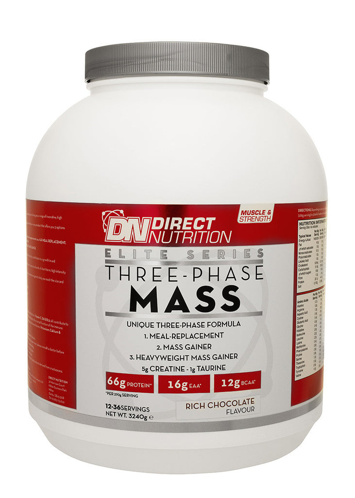 Elite Three Phase Mass Straight