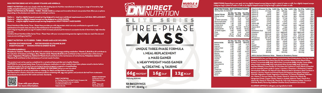 Elite Three Phase Mass Label