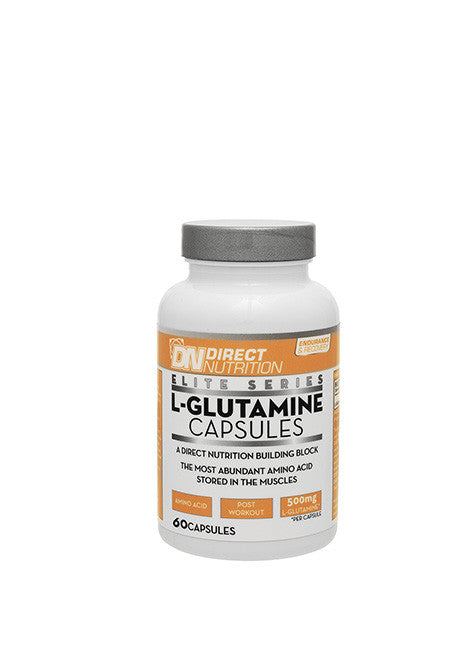 Elite L-Glutamine Tab Straight