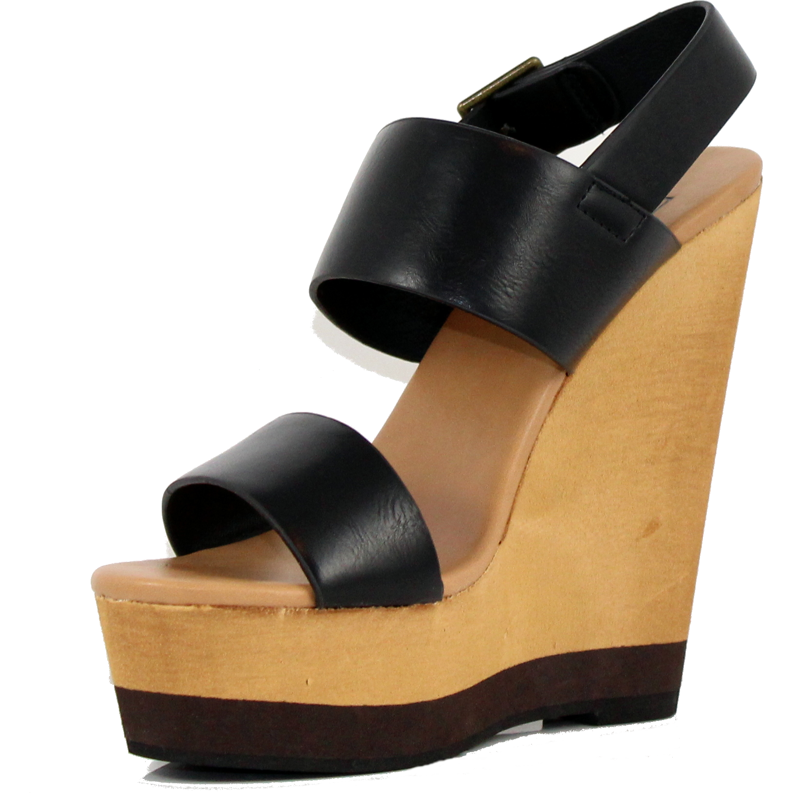 Joslyn - Black, Wedge, Tranché Boutique, Tranché Boutique