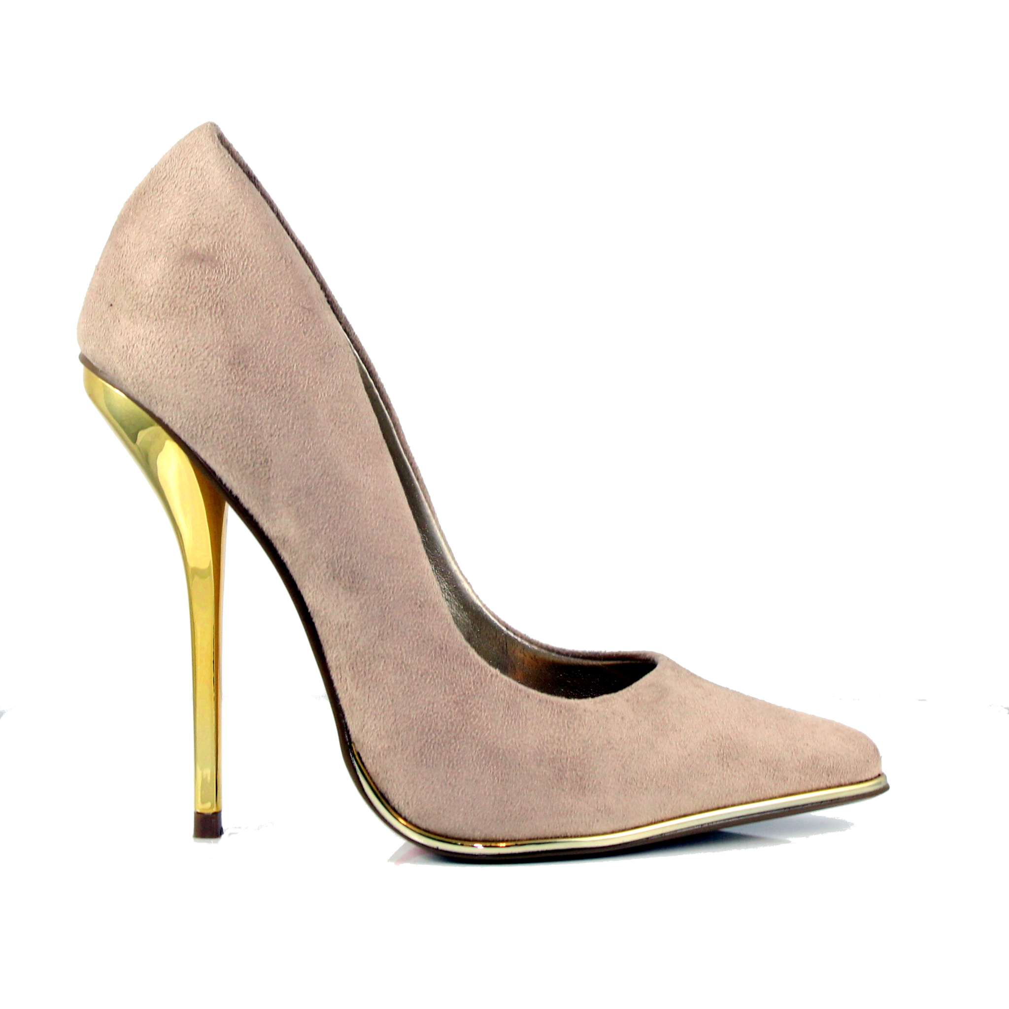 Mind Blowing - Natural Suede, Heels, Luichiny, Tranché Boutique