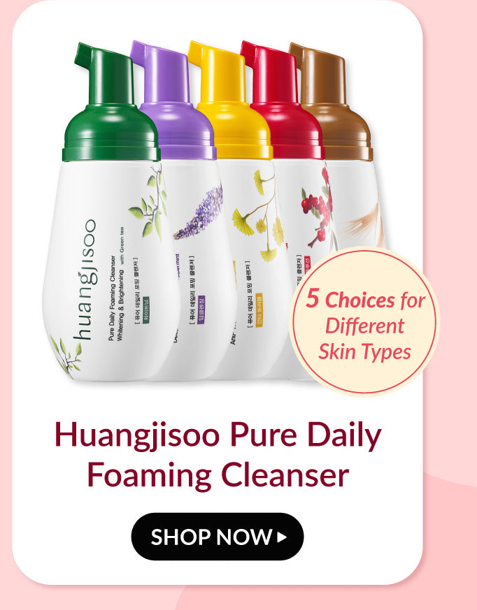 Huangjisoo Daily Foaming Cleanser