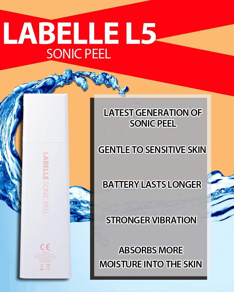 Here's what's better in Labelle L5 Sonic Peel!