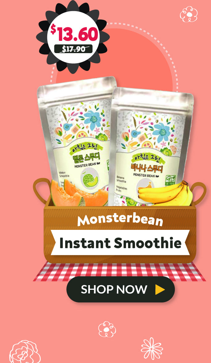 Monster Bean Instant Smoothie