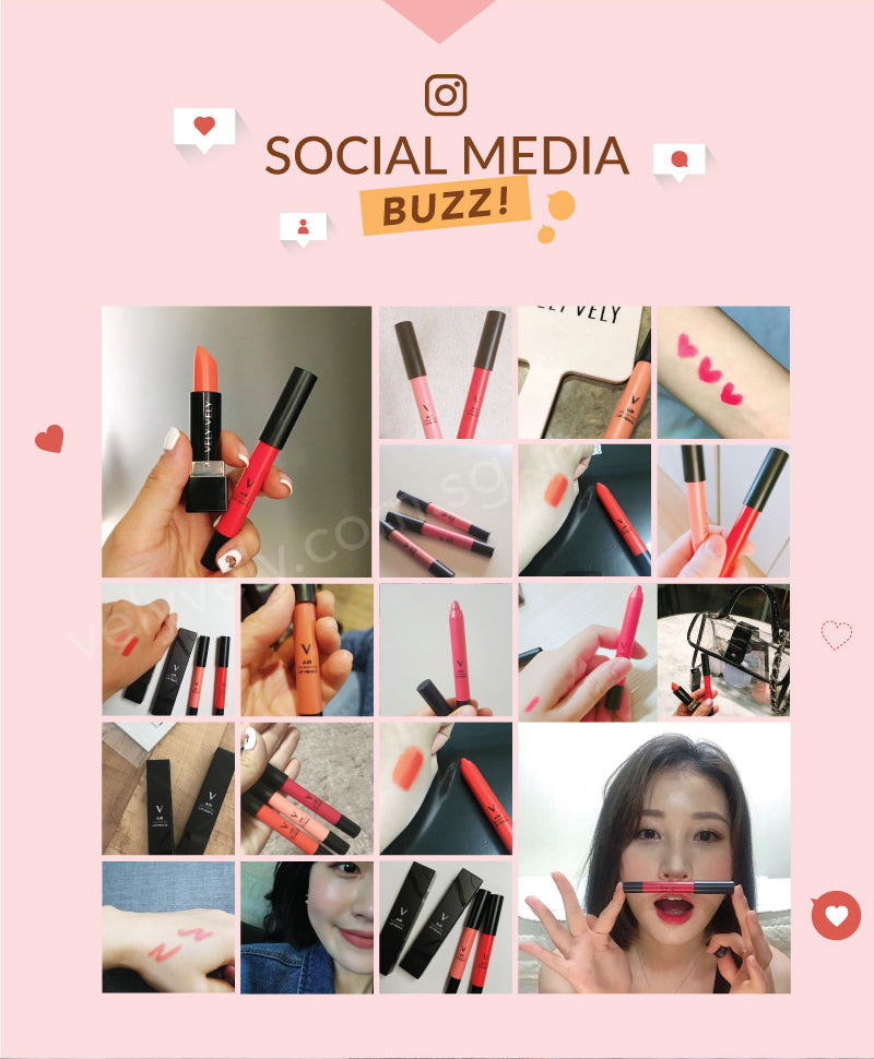 Check out our customers posting their lipsticks on Instagram and Facebook. Feel free to share your looks on Instagram too!