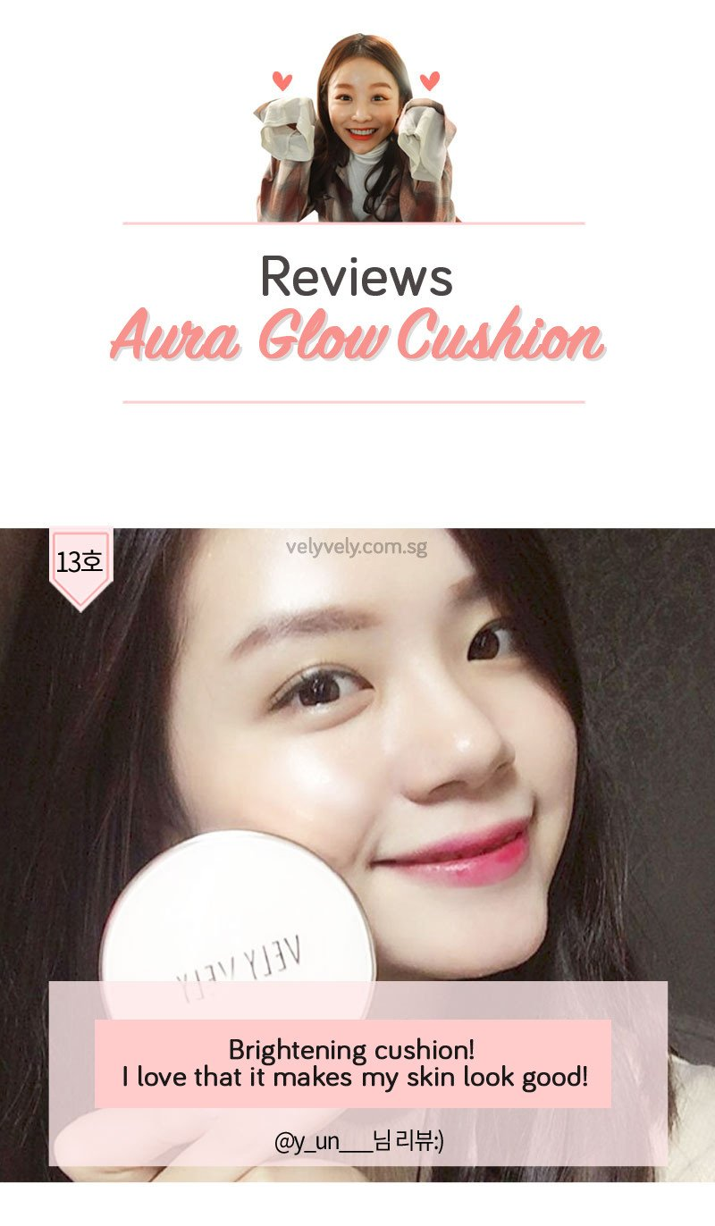 Check out Vely Vely's Aura Glow Cushion Reviews!