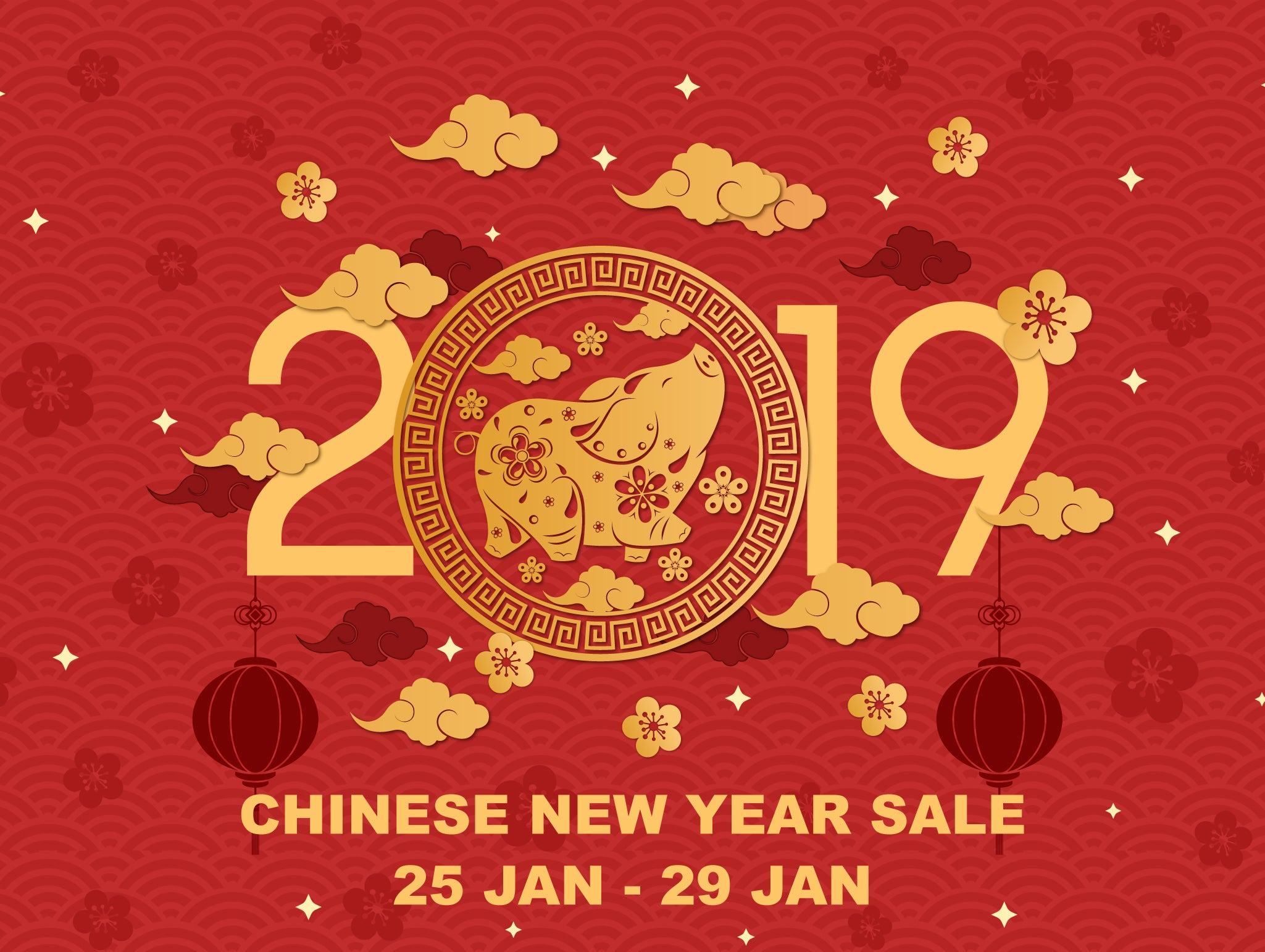 Waseyo 2019 Chinese New Year Sale!