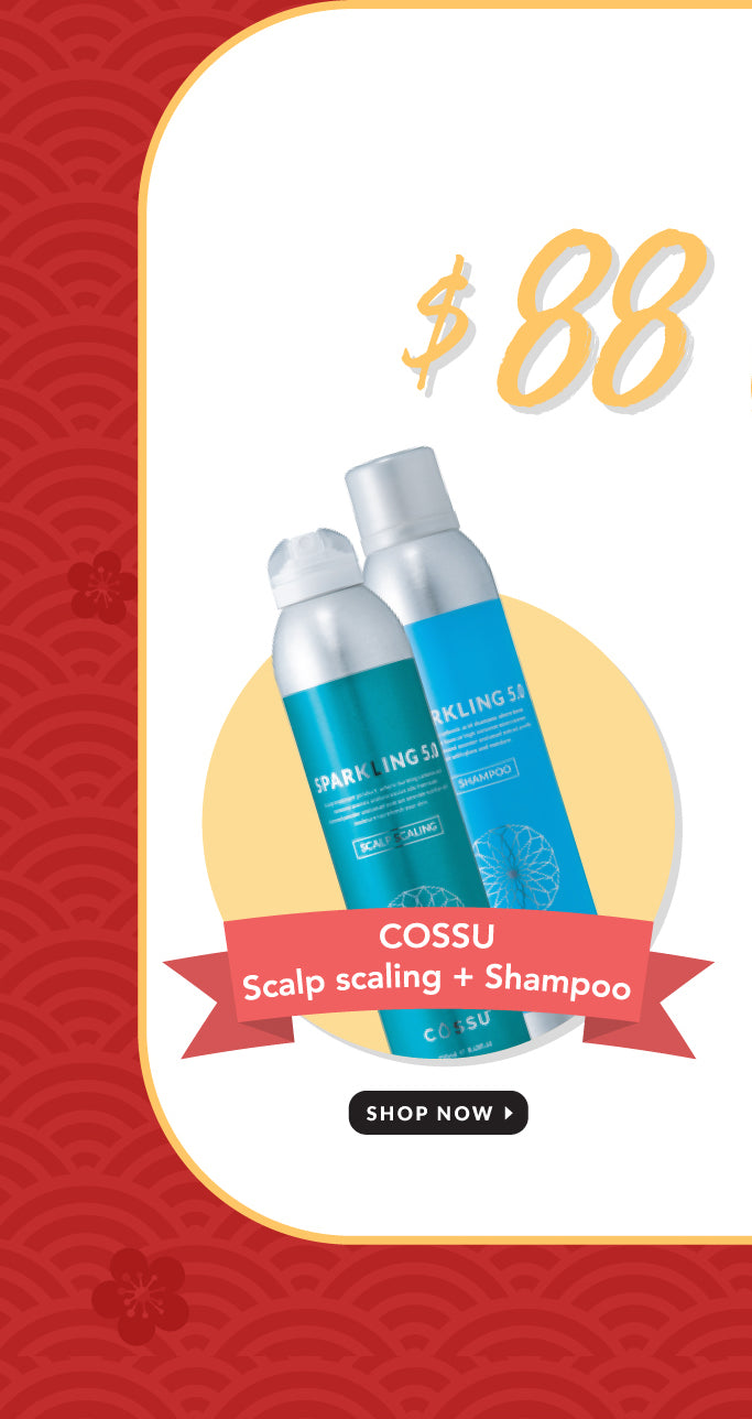 Cossu Sparkling Scalp and Shampoo Set