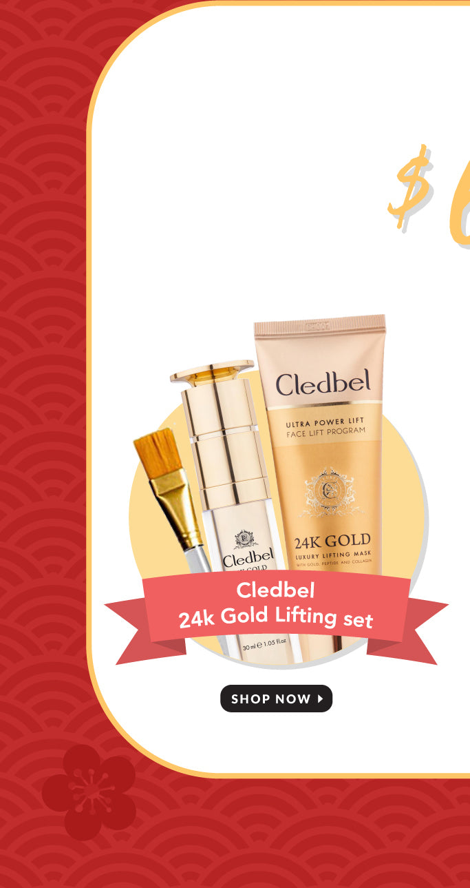 Cledbel Gold Lifting Mask Set