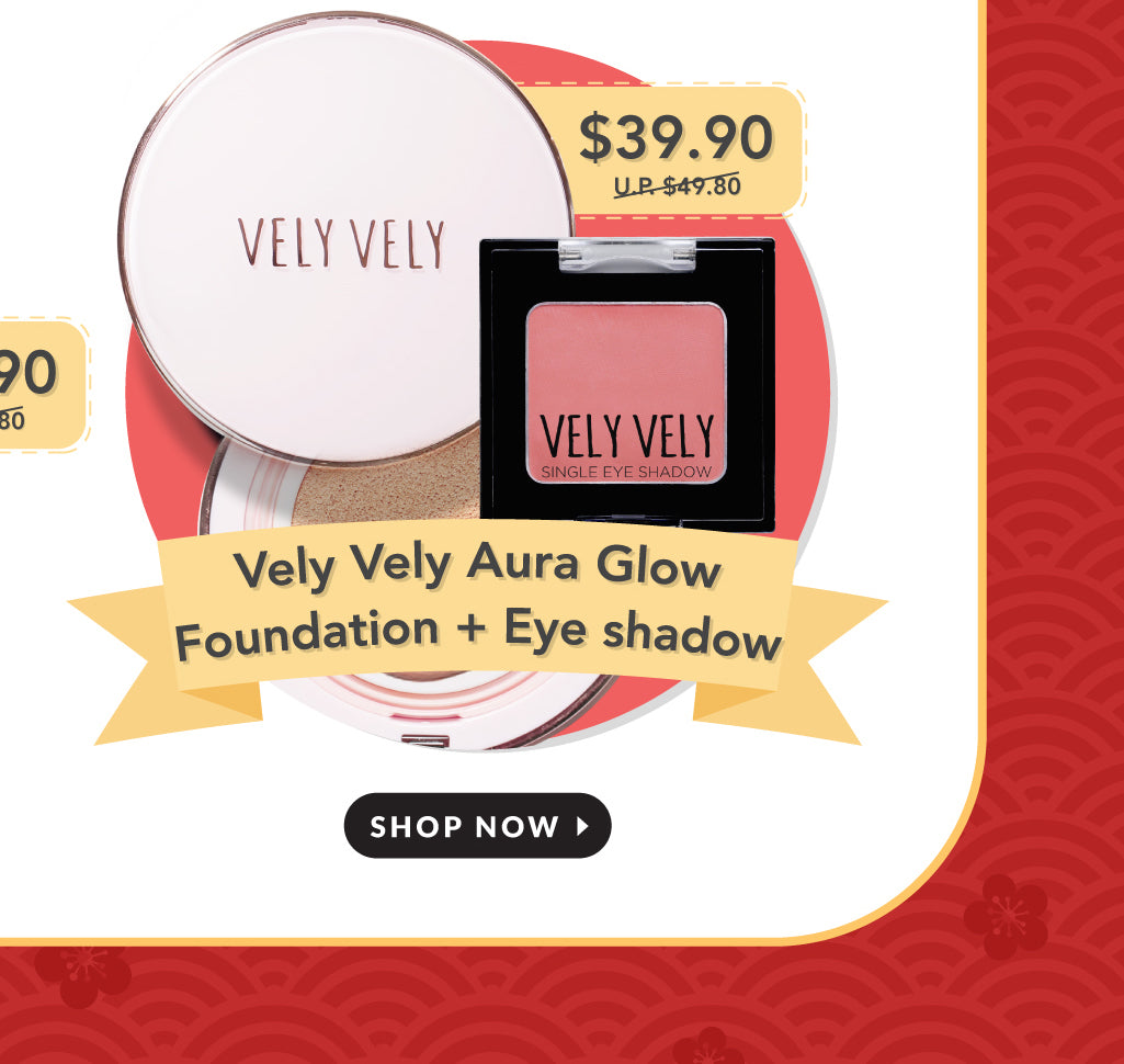 Vely Vely Aura Glow Cushion + Eye Shadow