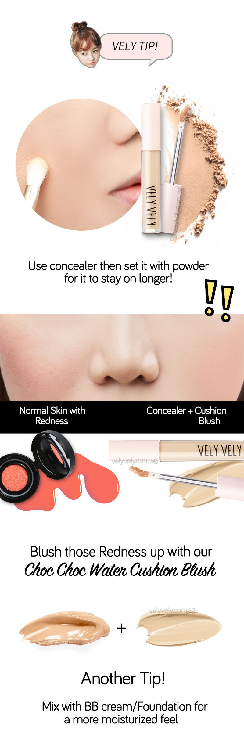 Here's some tips when using the IM Custom Complete Mascara by velyvely.com.sg
