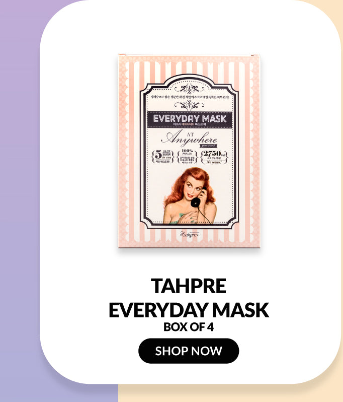 Tahpre Everyday Mask Box (4 Sheets)