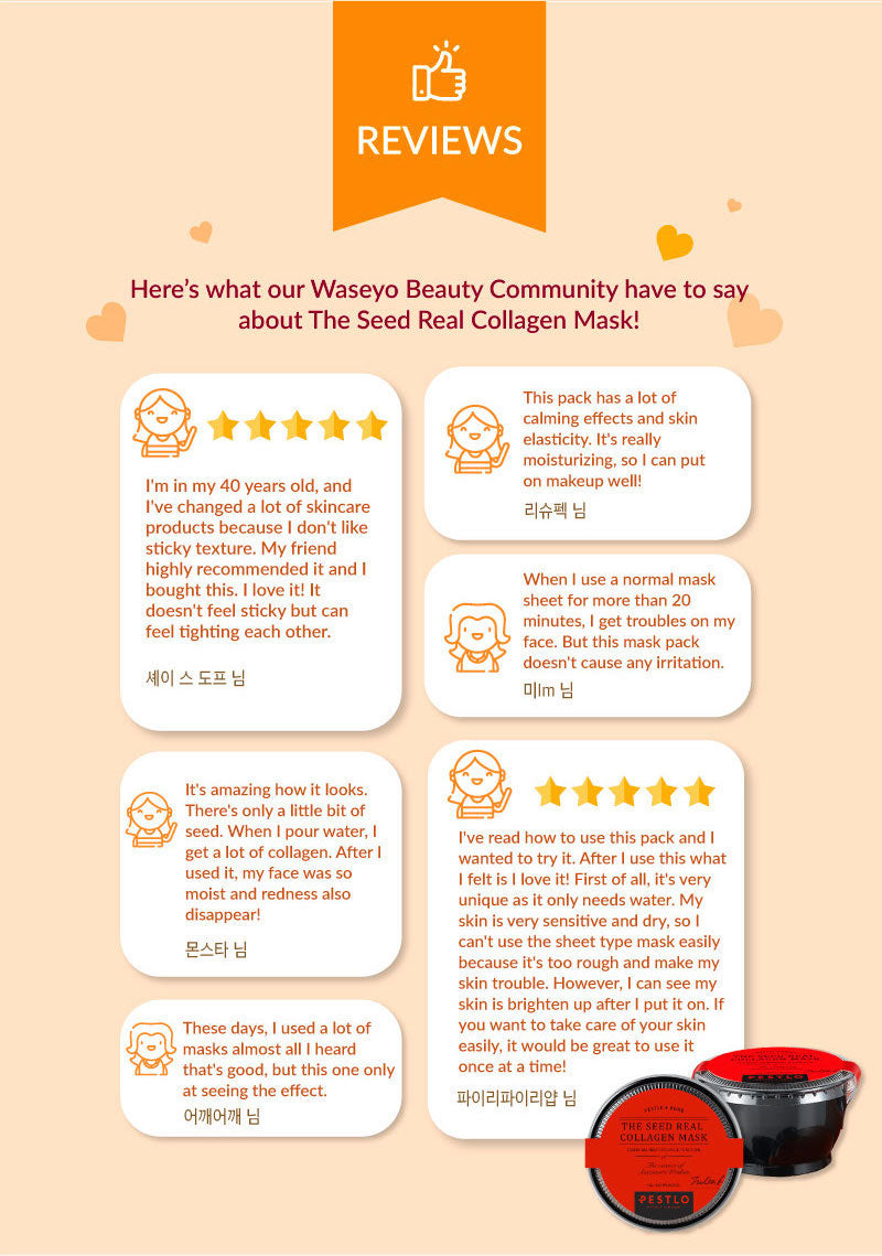 Take a look at the reviews by our beauty community!