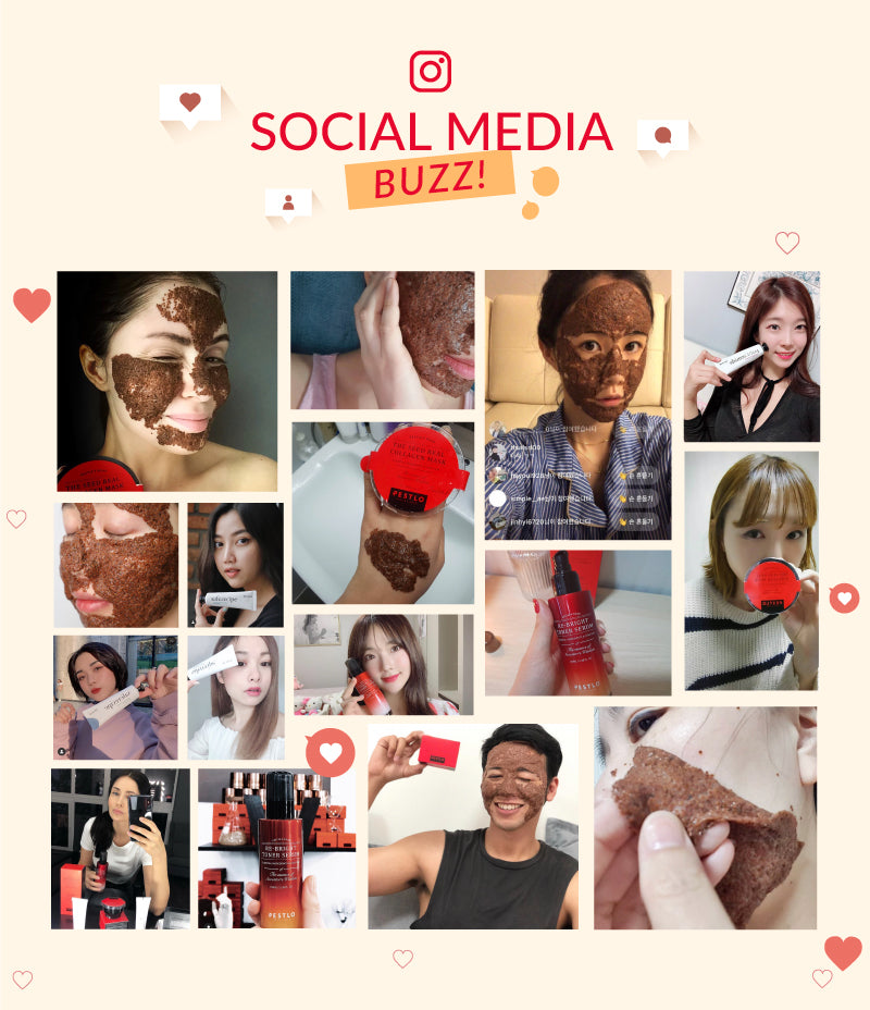 Check out the Craze on social media for the Pestlo The Seed Real Collagen Mask!