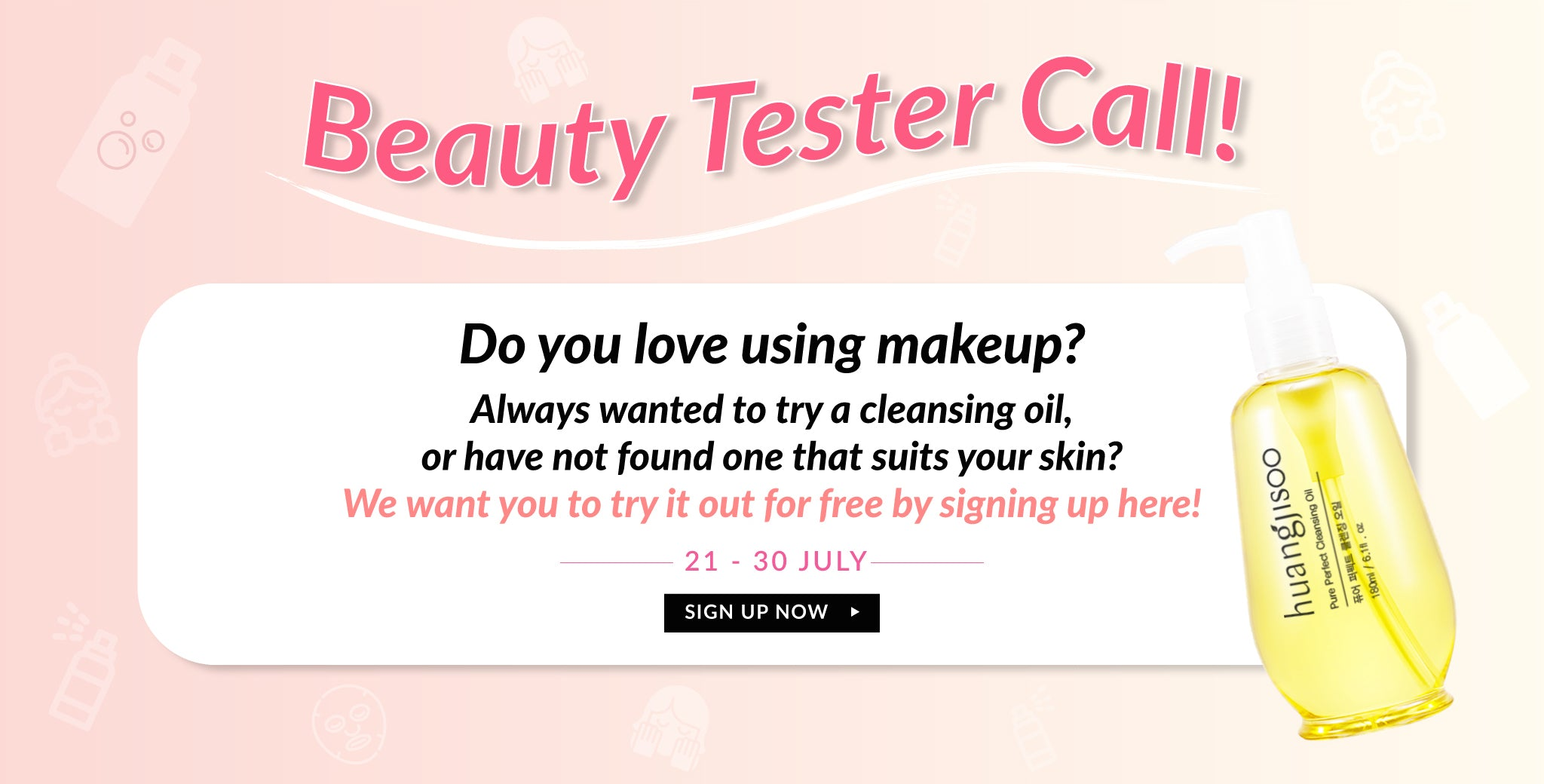 Calling For Beauty Testers