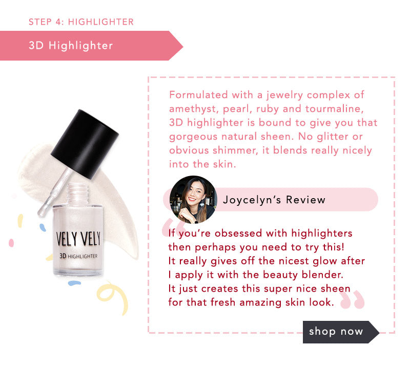 Joycelyn Thiang's review of Vely Vely 3D Highlighter