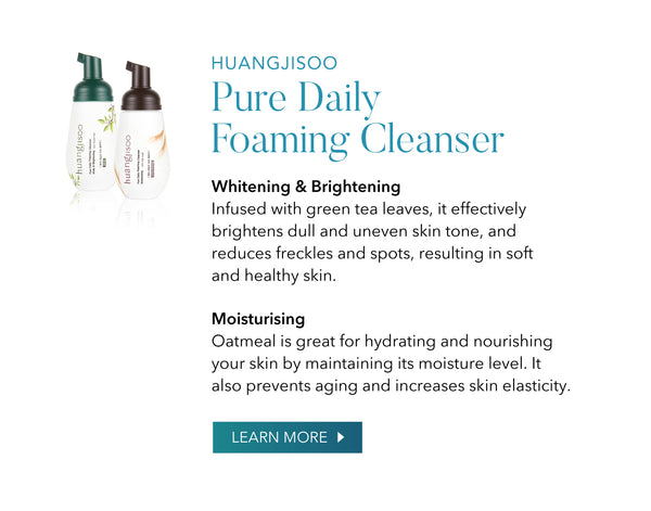 Huangjisoo Pure Daily Foaming Cleanser