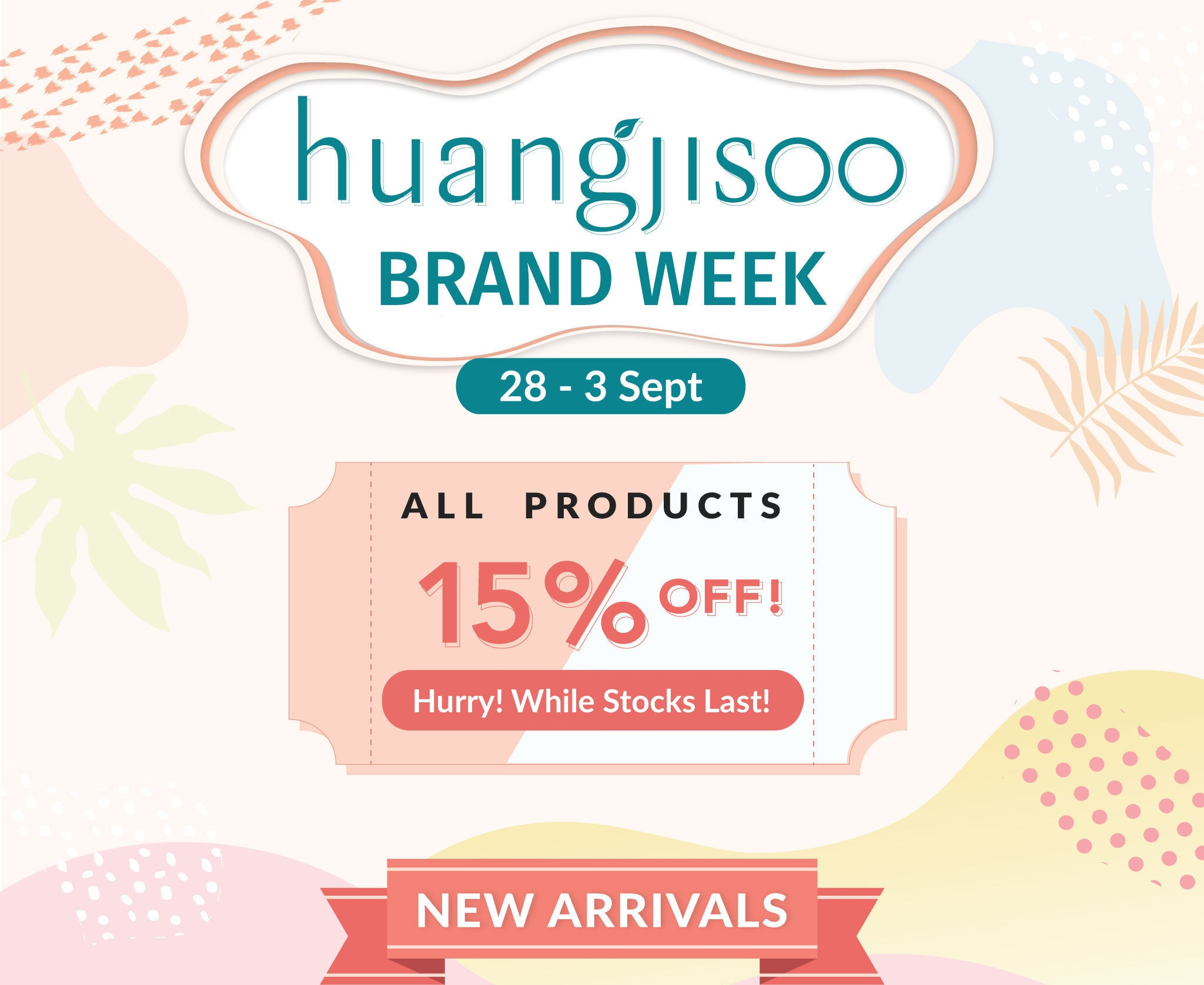 Huangjisoo Week is Now Here!