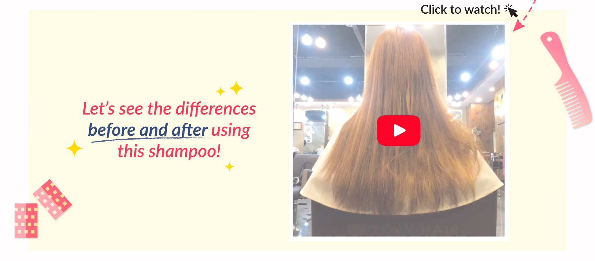 Watch the Shampoo in action here!