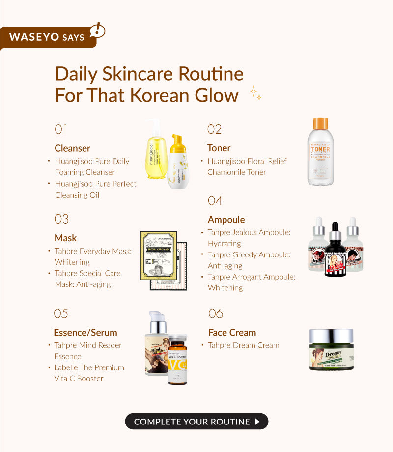 If you are looking for the Korean Skincare routine, here is a simple guide which you can reference too! Complete your routine today!