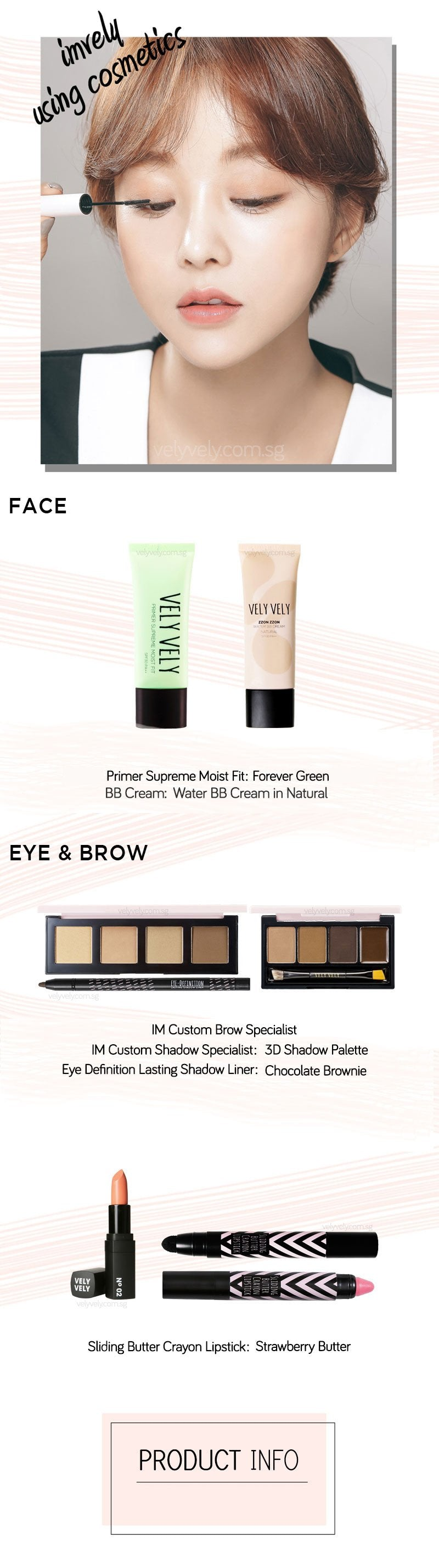 Other Vely Vely products you can use with IM Complete Mascara