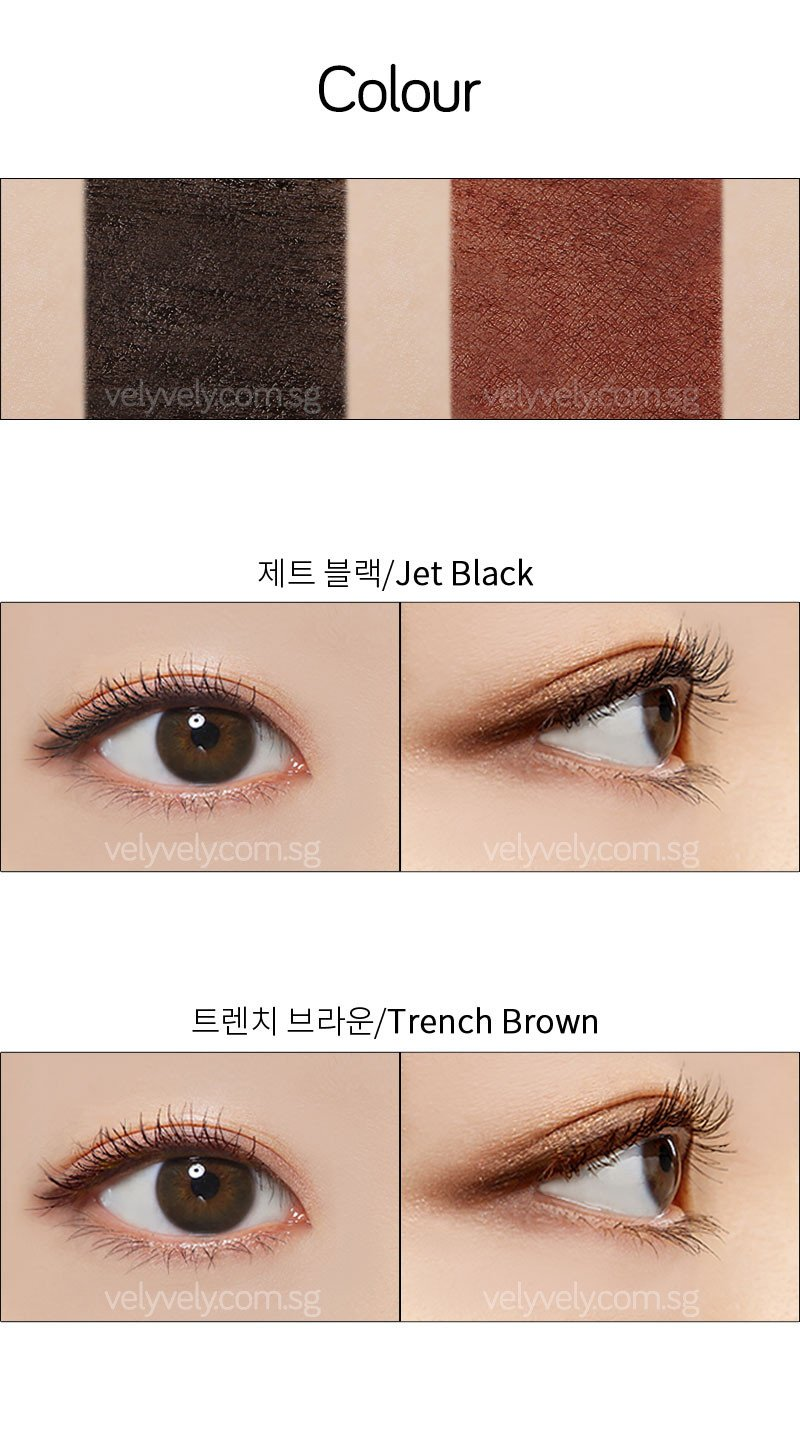 IM Complete Mascara in Jet Black and Trench Brown
