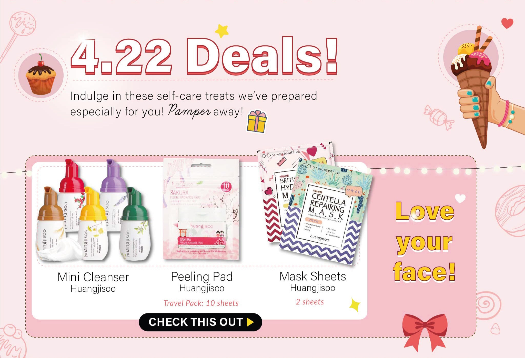 Check out our deals going at just 4.22!